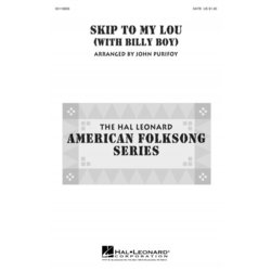Skip to My Lou (with Billy Boy), SATB Parts