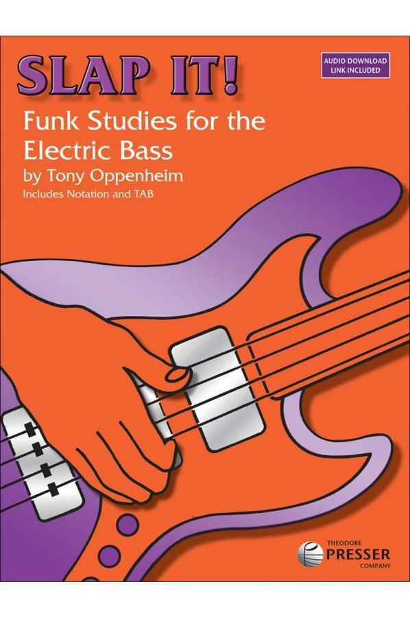 View larger image of Slap It! - Funk Studies for the Electric Bass w/CD