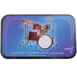 Snare/Cymbal Mint Tin