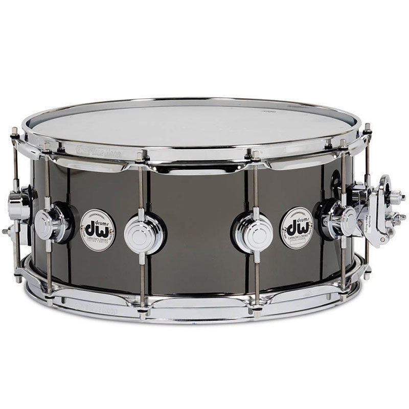 View larger image of DW Workshop Collector's Black Nickel Over Brass Snare Drum