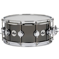DW Workshop Collector's Black Nickel Over Brass Snare Drum