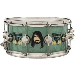 DW Dave Grohl Limited Icon Snare Drum