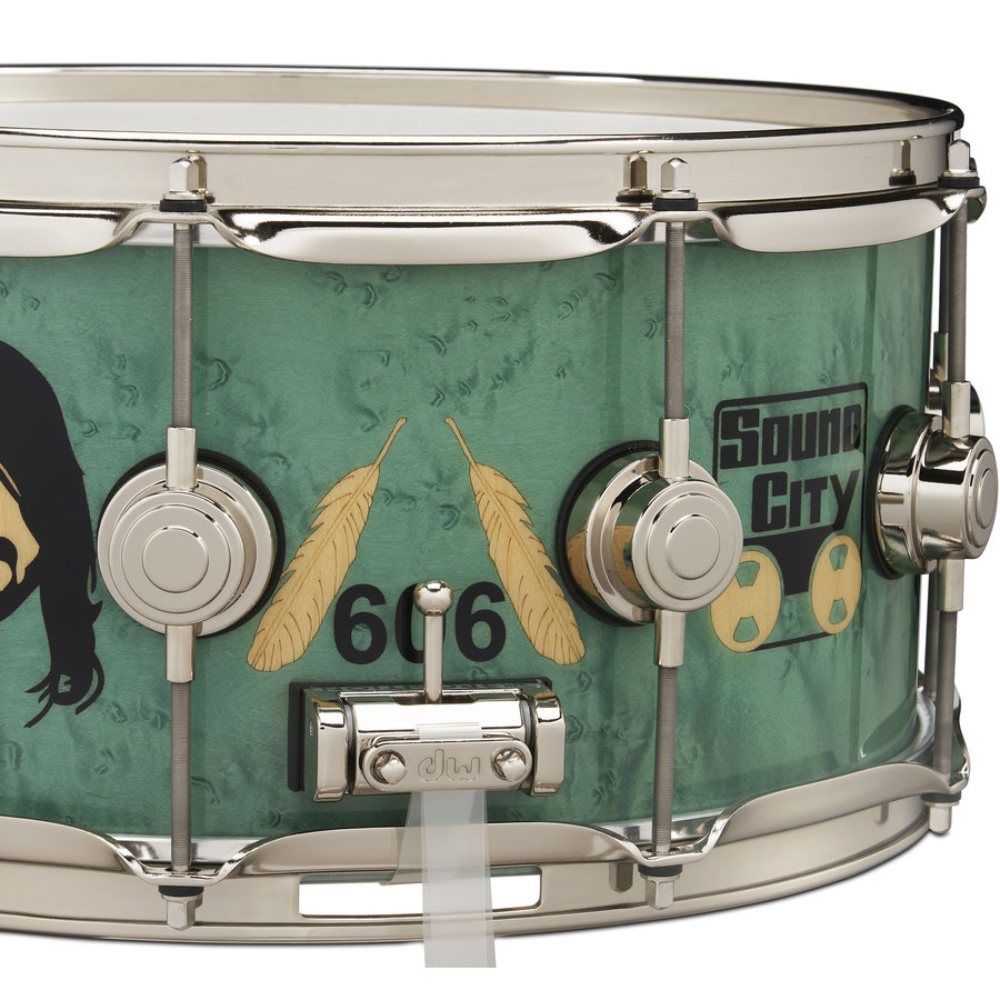 View larger image of DW Dave Grohl Limited Icon Snare Drum