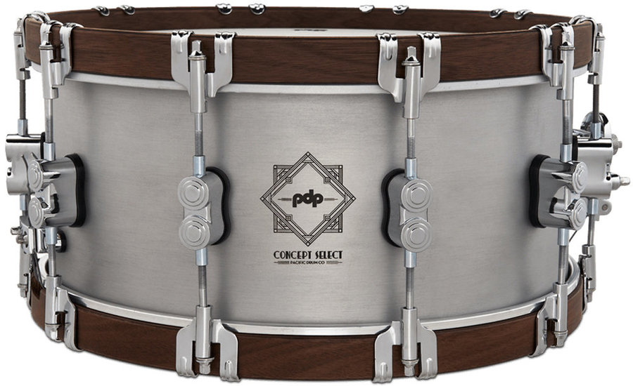 """View larger image of PDP Concept Select Snare Drum - 6-1/2""""x14"""", Aluminum"""