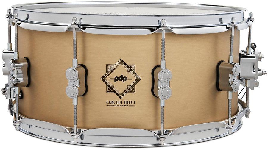 """View larger image of PDP Concept Select Snare Drum - 6-1/2""""x14"""", Bell Bronze"""
