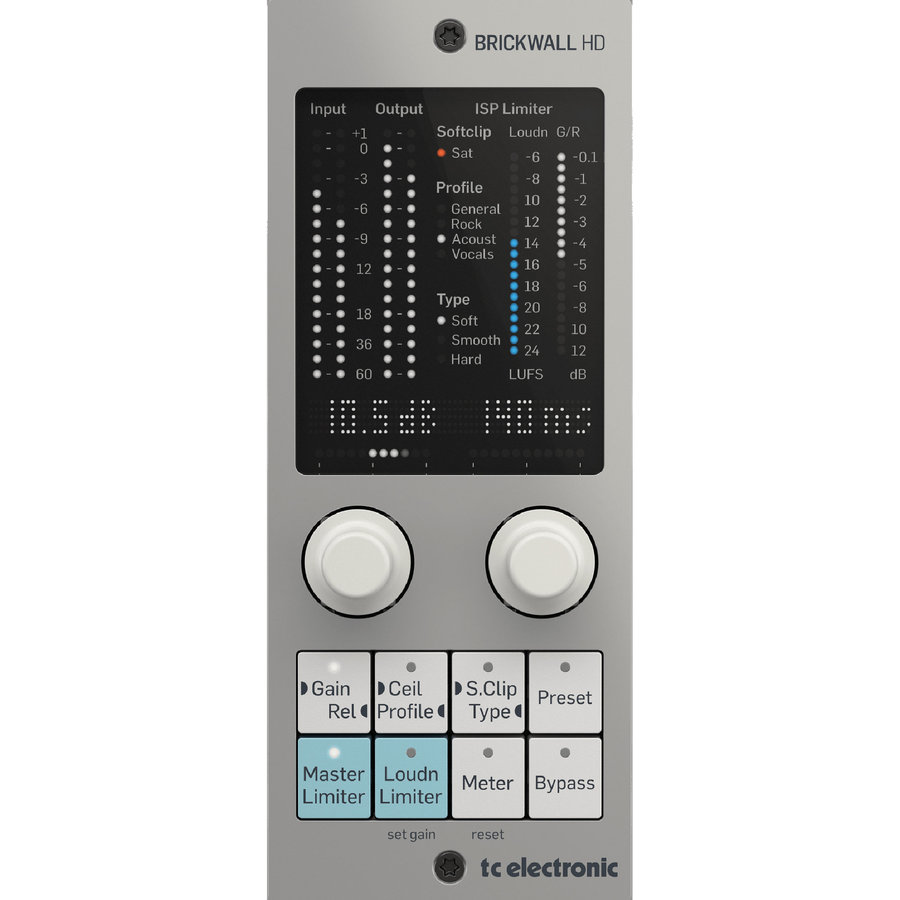 View larger image of TC Electronic BRICKWALL HD-DT Mastering Brickwall Limiter Plug-In
