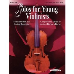 Solos For Young Violinists, Vol.2 - Violin/Piano