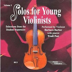 Solos for Young Violinists, Vol.3 - CD