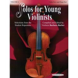 Solos for Young Violinists, Vol.4 - Violin/Piano