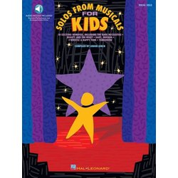 Solos From Musicals For Kids - w/Online Audio