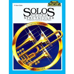 Solos Sound Spectacular - F Horn
