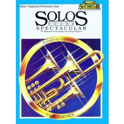 Solos Sound Spectacular - Oboe/Mallet