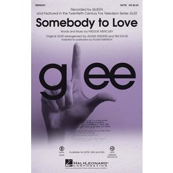 Somebody To Love (Glee/Queen) - SATB,Parts