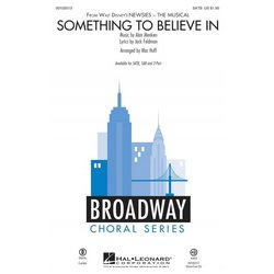 Something to Believe In (from Newsies) - ShowTrax CD
