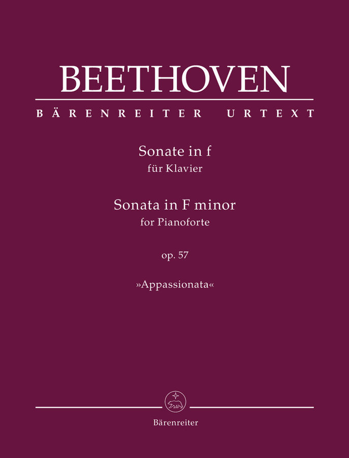 View larger image of Sonata for Pianoforte F minor op. 57 Appassionata - Beethoven