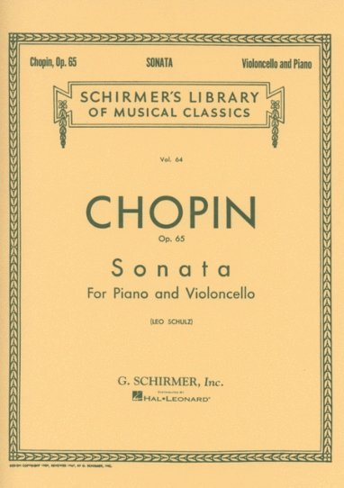 View larger image of Sonata in G Minor, Op.65 (Chopin) - Cello