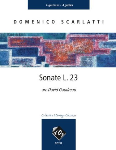View larger image of Sonate L.23 (Scarlatti) - Guitar Quartet