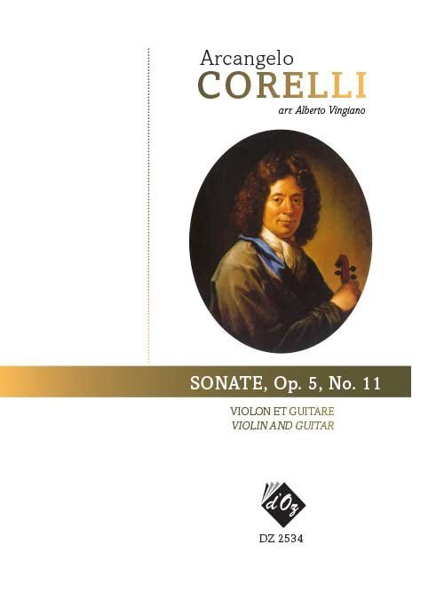 View larger image of Sonate, Op.5, No.11 (Corelli) - Guitar & Violin Duet