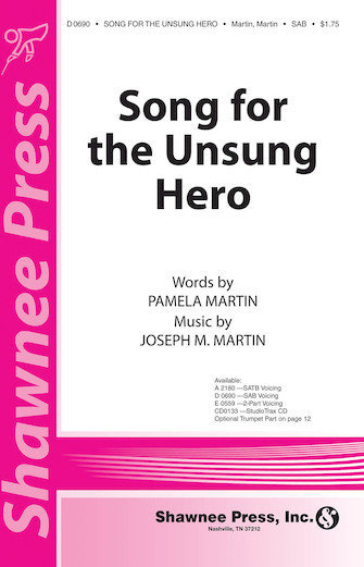 View larger image of Song For The Unsung Hero, SATB Parts