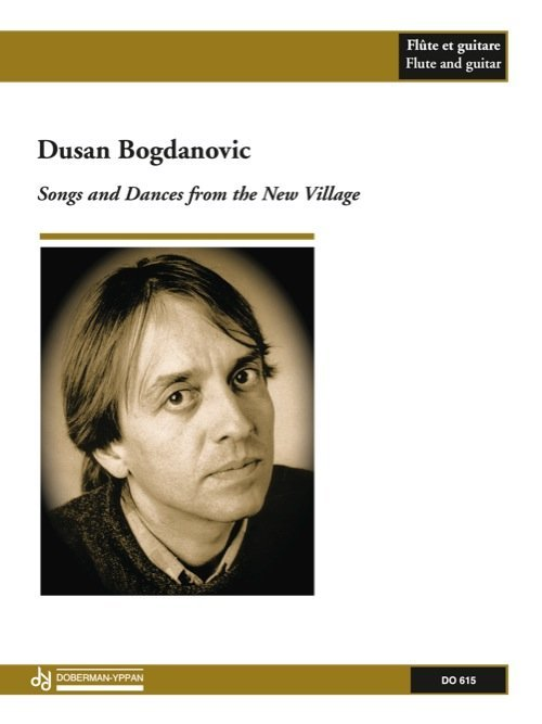 View larger image of Songs And Dances From The New Village (Bogdanovic) - Guitar & Flute Duet