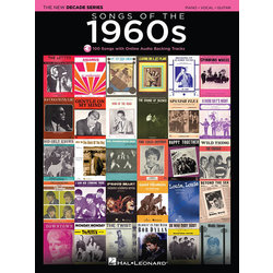 Songs of the 1960s (Piano/Vocal/Guitar Songbook)