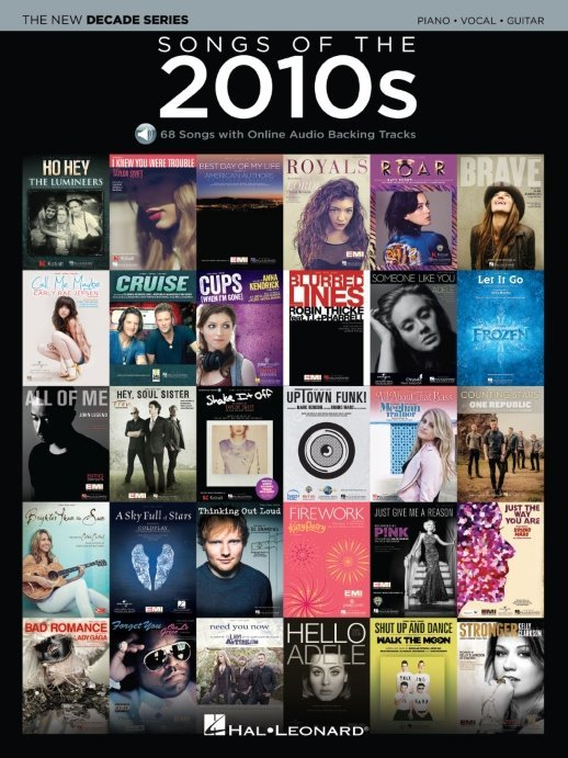 View larger image of Songs of the 2010s w/Online Audio