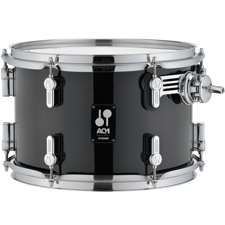 View larger image of Sonor AQ1 Studio 5-Piece Drum Set - 20/14SD/14FT/12/10, Hardware, Piano Black
