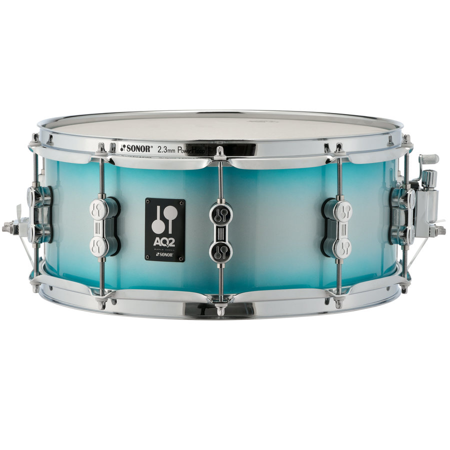 View larger image of Sonor AQ2 Bop 4-Piece Shell Pack - 18/14SD/14FT/12, Aqua Silver Burst