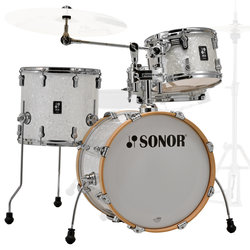 Sonor AQ2 Bop 4-Piece Shell Pack - 18/14SD/14FT/12, White Pearl