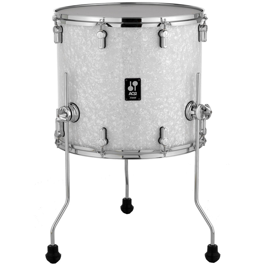 View larger image of Sonor AQ2 Floor Tom - 14x13, White Pearl