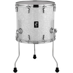 Sonor AQ2 Floor Tom - 16x15, White Pearl