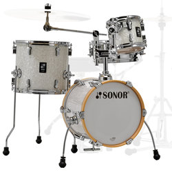 Sonor AQ2 Martini 4-Piece Shell Pack - 14/12SD/13FT/8, White Pearl