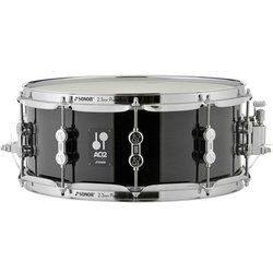 Sonor AQ2 Snare Drum - 14x6, Transparent Satin Black