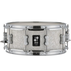 Sonor AQ2 Snare Drum - 14x6, White Pearl