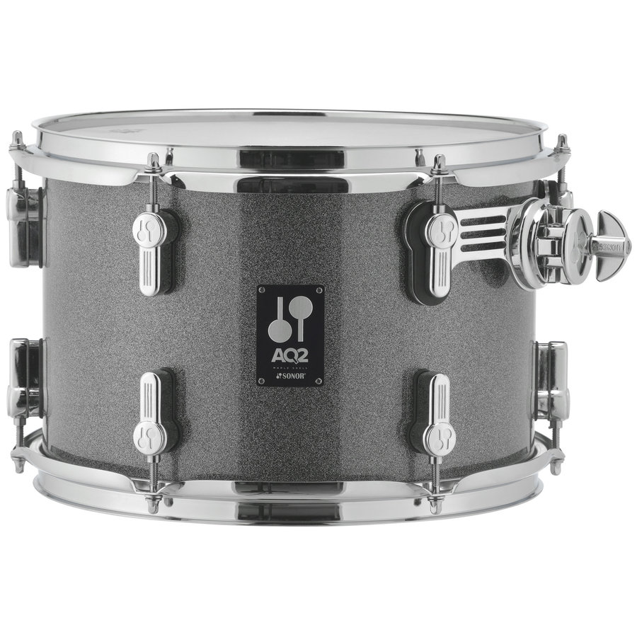 View larger image of Sonor AQ2 Stage 5-Piece Shell Pack - 22/14SD/16FT/12/10, Titanium Quartz