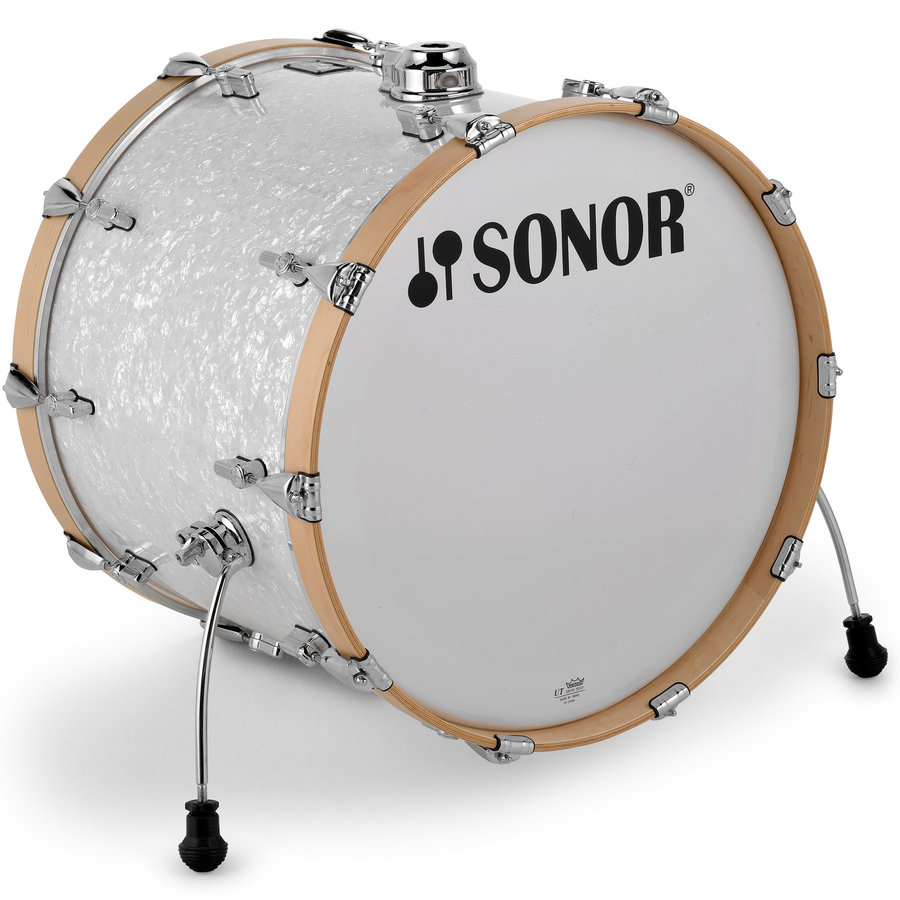 View larger image of Sonor AQ2 Stage 5-Piece Shell Pack - 22/14SD/16FT/12/10, White Pearl
