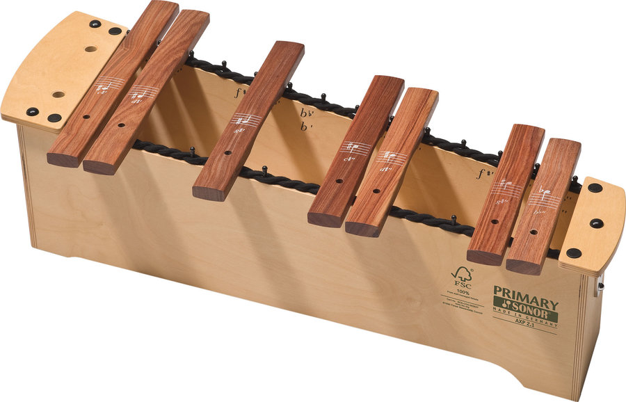 View larger image of Sonor AXP 2.1 Primary Series Xylophone Chromatic Extension
