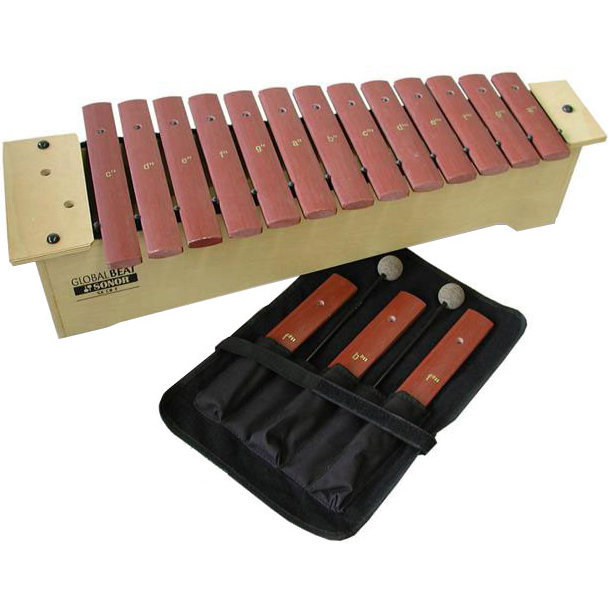 View larger image of Sonor Global Beat Fiberglass Soprano Xylophone