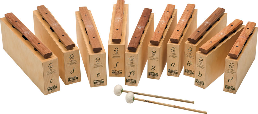 View larger image of Sonor KSP20X1 Primary Chime Bar Set