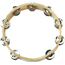 View larger image of Sonor LHT Double Jingle Tambourine - 10, Wood