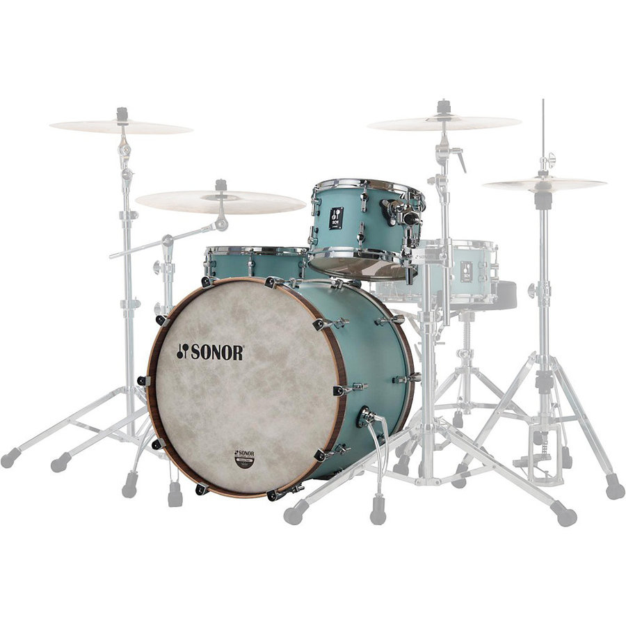 View larger image of Sonor SQ1 Series 3-Piece Shell Pack - 20/14FT/12, Cruiser Blue