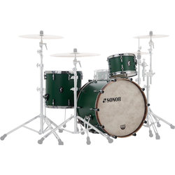 Sonor SQ1 Series 3-Piece Shell Pack - 20/14FT/12, Roadster Green