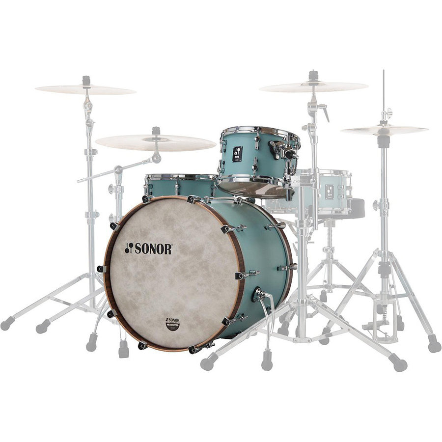 View larger image of Sonor SQ1 Series 3-Piece Shell Pack - 24/16FT/13, Cruiser Blue
