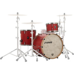 Sonor SQ1 Series 3-Piece Shell Pack - 24/16FT/13, Hot Rod Red