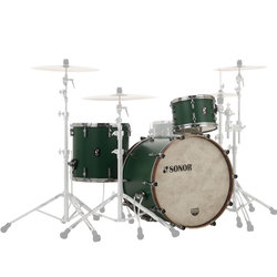 Sonor SQ1 Series 3-Piece Shell Pack - 24/16FT/13, Roadster Green