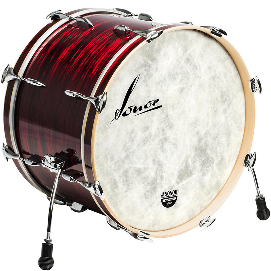 View larger image of Sonor Vintage Series Bass Drum - 20x14, Red Oyster