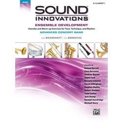 Sound Innovations for Advanced Concert Band Ensemble Development - Clarinet 1