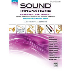 Sound Innovations for Advanced Concert Band Ensemble Development - Mallet Percussion