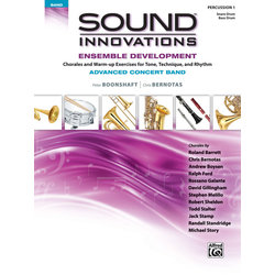 Sound Innovations for Advanced Concert Band Ensemble Development - Percussion 1