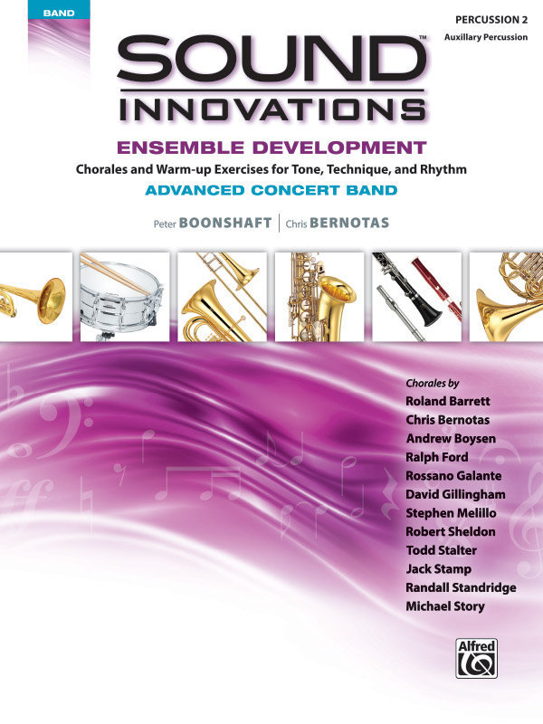 View larger image of Sound Innovations for Advanced Concert Band Ensemble Development - Percussion 2
